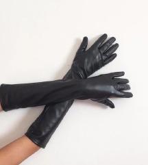 Duge kožne rukavice