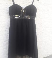 svečana crna haljina pt uključena