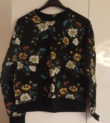 h&m cvijetna majica