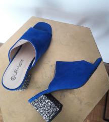 Mass plave 'mule' cipele