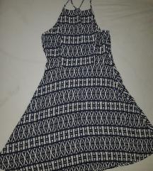 H&M ljetna lepršava haljina