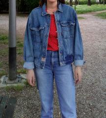 Retro jeans jakna