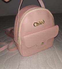 Mini ruksak Cleo** Novo rozi