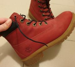 TIMBERLAND crvene čizme