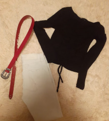Hlace remen majica
