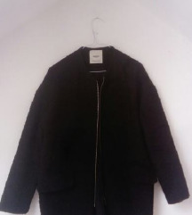 Crni kaput like Chanel MANGO 36