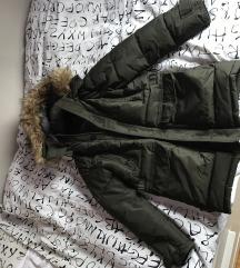 ZARA muška zimska jakna - maslinasta - M