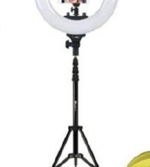 Led ring lampa sa staklom