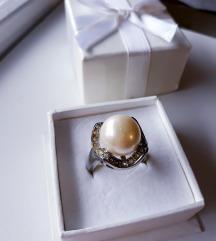 Statement biserni prsten 20mm