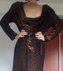 Vintage bakrena haljina 80e/90e