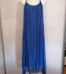 Haljina svila&viskoza🌀 NOVA 🌀UNI VEL