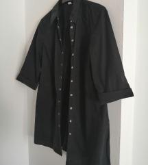 Crna duža košulja