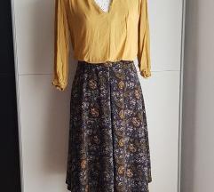 C&A midi suknja visokog struka