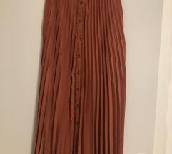 Plisirana suknja Stradivarius