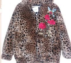 Ainea dizajnerska jakna od umjetnog krzna