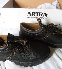 ARTRA, zaštitne radne kožne cipele, nove