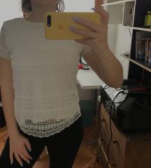 Bijela orsay majica na čipku