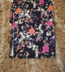 zara cvjetna suknja
