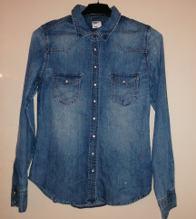 H&M jeans košulja