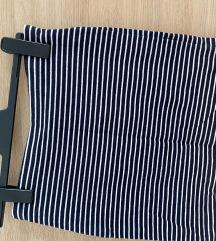 uska h&m suknja