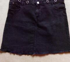 Crna traper suknja 44