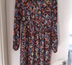 ZARA mini cvjetna haljina