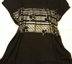 Nova crna majica- oversize model