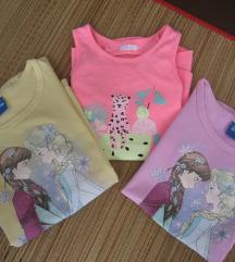 Tri majice vel.122
