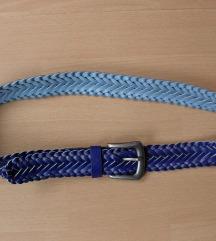 Ljubičasti pleteni remen, 100 cm