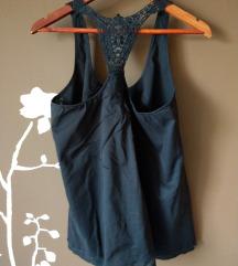 Sisley crni top tunika