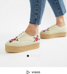 London Rebel Asos platforme 39