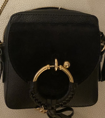 Chloe mala crna torba