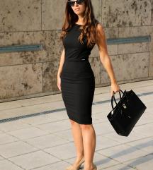 Crna business look haljina