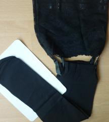 Samostojeće čarape s halterima, M/L