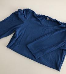 Stradivarius kraljevsko plava majica