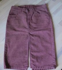 Levi's suknja od samta XS/XXS