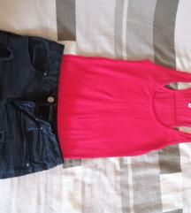 Ljetni lot, kratke hlačice+majica