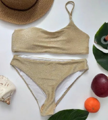 Zaful kupaći kostim sa šljokicama s/m