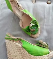 sandale zelene