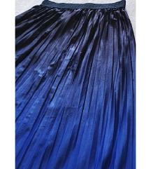 duga plava ombre suknja