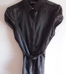 Crna svilena kosulja