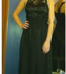 Dugačka svečana crna haljina