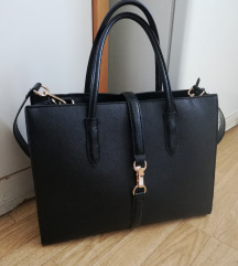 Crna h&m torba zamjena za crni ruksak