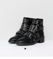 Asos crne čizme sa zakovicama
