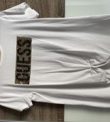 Guess bijela pamučna majica XS
