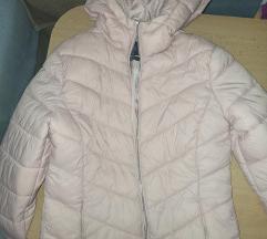 Blijedo roza jaknica