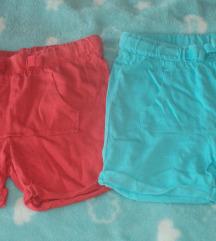 8 pari kratkih hlača lot 50kn