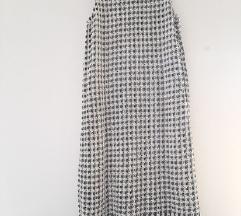 Mango suit pletena haljina sa resicama sa Tiskom