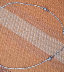 Srebrna ogrlica kuglice