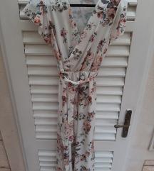 NOVO midi cvijetna haljina (pt uključena)